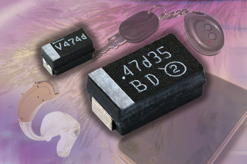 Vishay Sprague TANTAMOUNT SMT molded tantalum chip capacitors now available from TTI