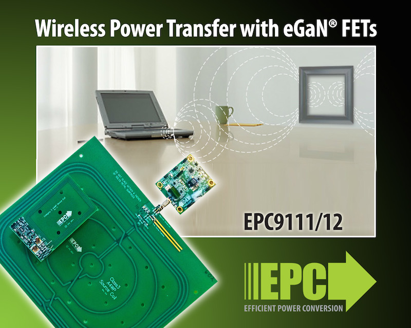 EPC releases A4WP-compliant high-efficiency wireless power demo Kit
