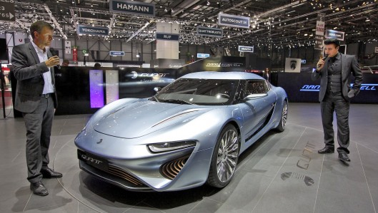Salt water-powered Quant e-Sportlimousine gets European approval