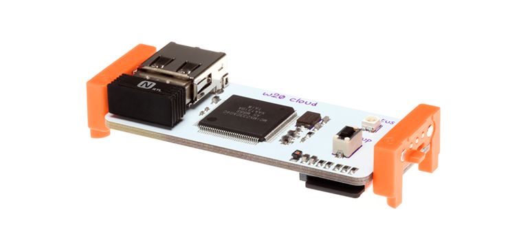 littleBits' cloudBit gives you the power to connect any object to the cloud