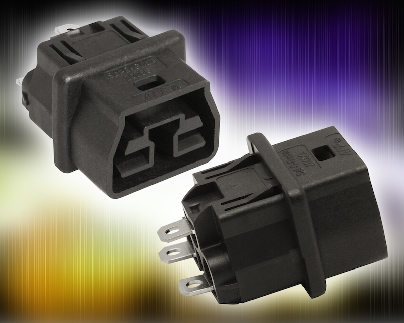 Halogen-free Saf-D-Grid DC power connector from Anderson Power Products offers greener alternative