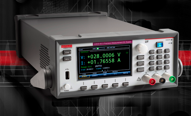 Keithley programmable power supplies tout precision, speed, and sensitivity