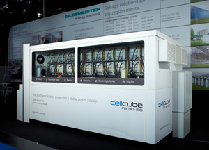 NREL to commission the first CellCube vanadium flow energy storage system in the USA