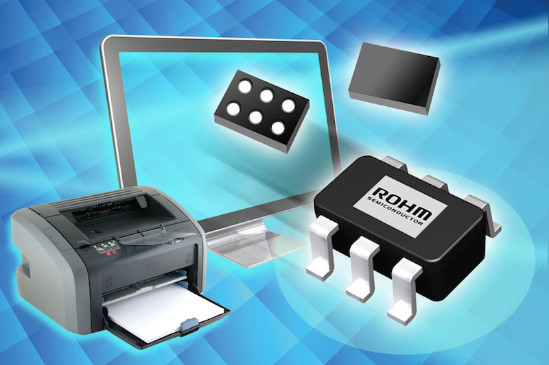 ROHM Semi's switching regulators tout high operating voltage, extended temperature, and small footprint