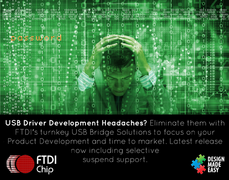 Advanced drivers from FTDI Chip enable more efficient systems