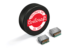 Coilcraft planar transformers offer high efficiency and excellent DCR with very low leakage inductance