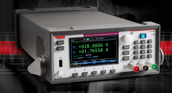 Keithley's latest programmable supplies optimized for testing battery-powered devices and low power semiconductors