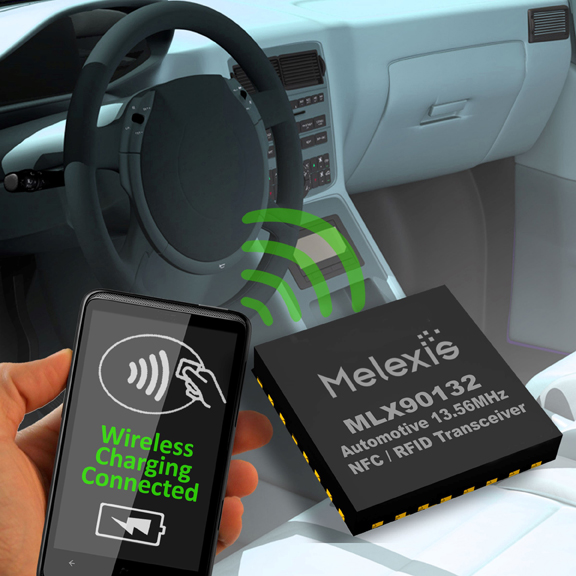 Melexis & Freescale create automotive-ready wireless charging & NFC reference design