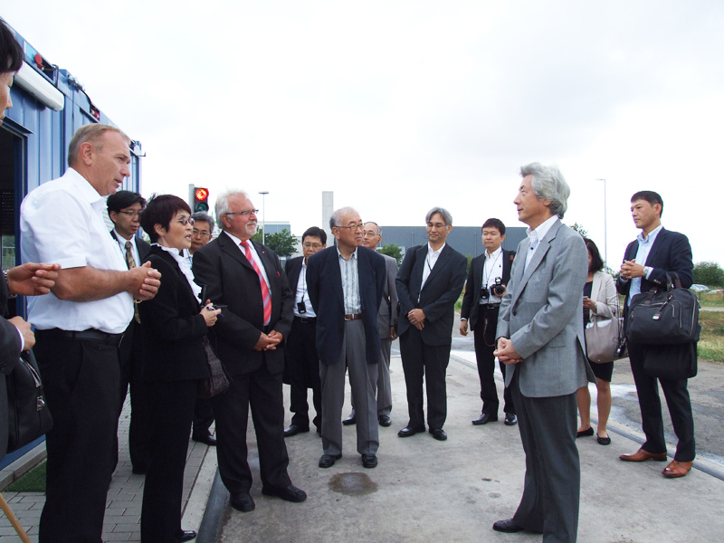Japanese on biogas discovery tour in Germany