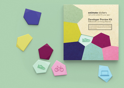 Estimote Sticker beacons create novel 'nearables' tech category