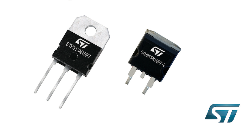 STMicro's latest 100V transistors drive efficiency in automotive systems