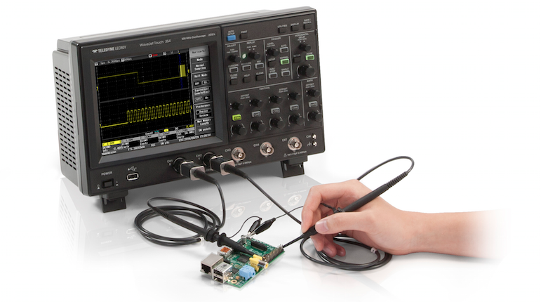 Teledyne LeCroy introduces 500 MHz, $5,000 WaveJet Touch portable oscilloscope