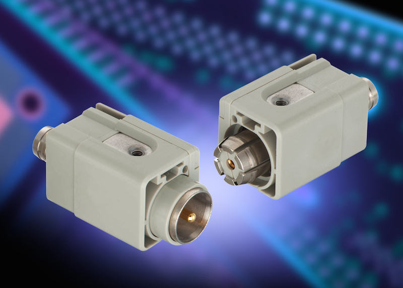 Han coax ETCS connector features robust communications interface for rail and harsh industrial apps