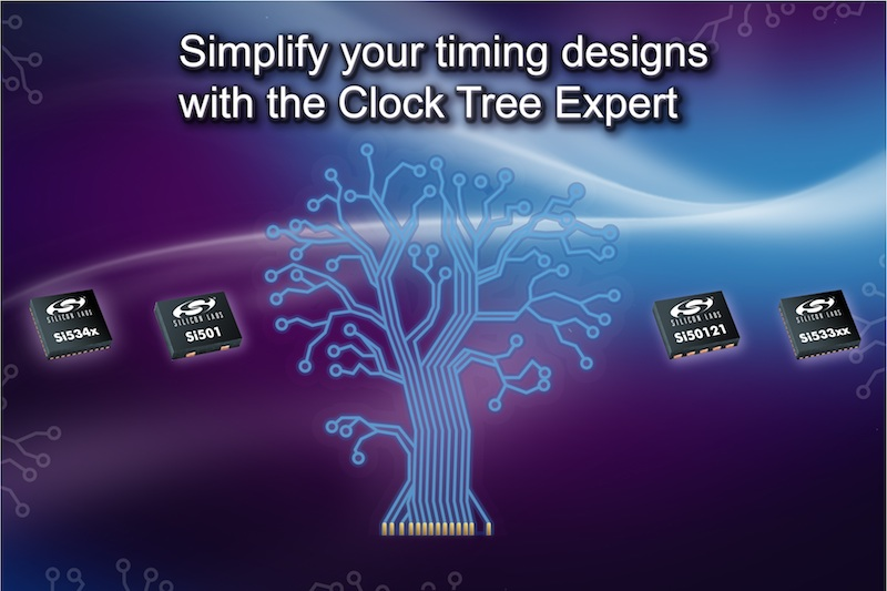 Silicon Labs simplifies clock tree design for complex internet infrastructure applications