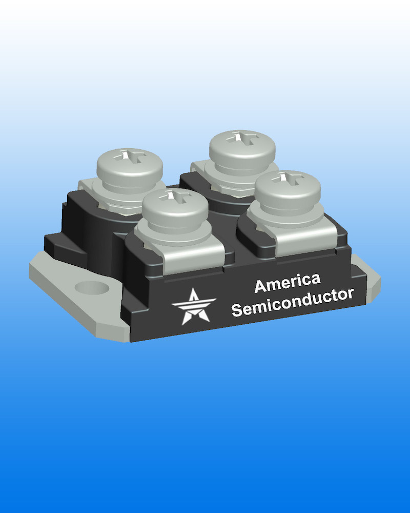 America Semiconductor releases high-voltage, utrafast Schottky rectifier modules