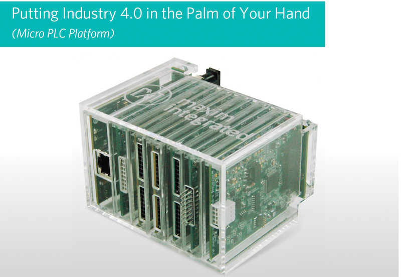 Micro PLC platform puts Industry 4.0 power in the palm of your hand