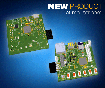 Microchip Bluetooth starter kit available from Mouser