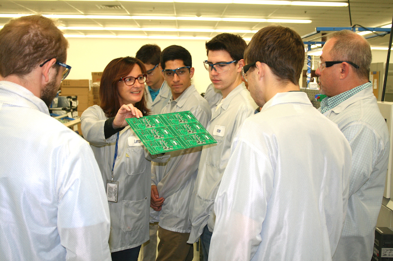 Lenze hosts students on first Massachusetts Manufacturing Day