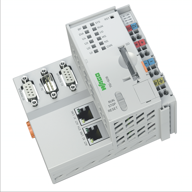 Controller expands PLC functionality