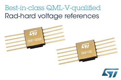 Rad-hard voltage references deliver stable performance