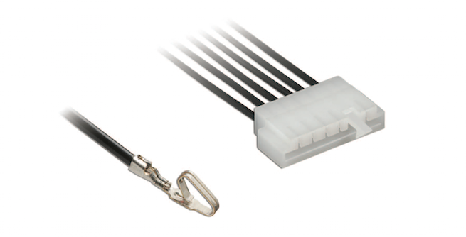 Molex EdgeMate wire-to-edgecard power connectors eliminate mating headers