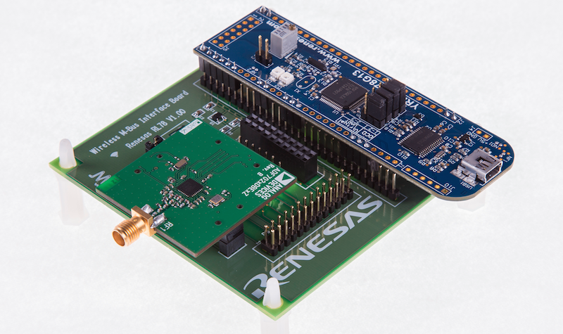 Renesas' wireless M-Bus solution adds comms to metering apps