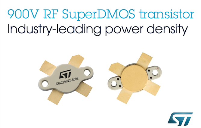 RF transistors from STMicroelectronics leverage latest high-voltage tech