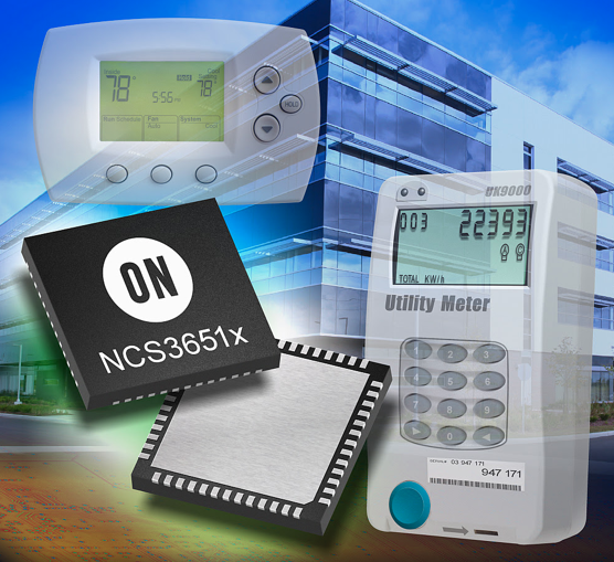 ON Semiconductor shows their NCS3651x family of SoC transceivers for the IoT and smart metering during European Utility Week