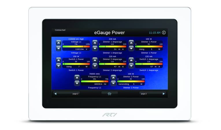 RTI's eGauge two-way driver performs real-time energy monitoring