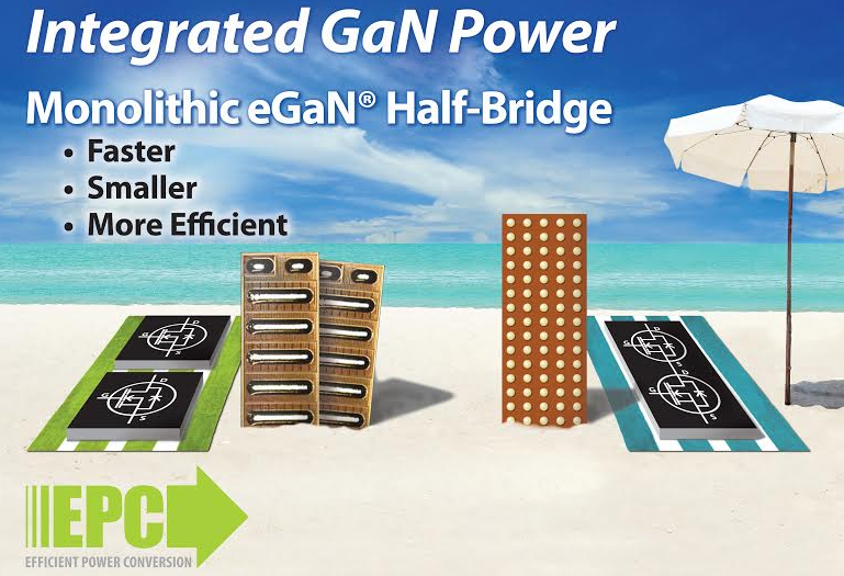 EPC Introduces EPC2105 monolithic GaN half bridge