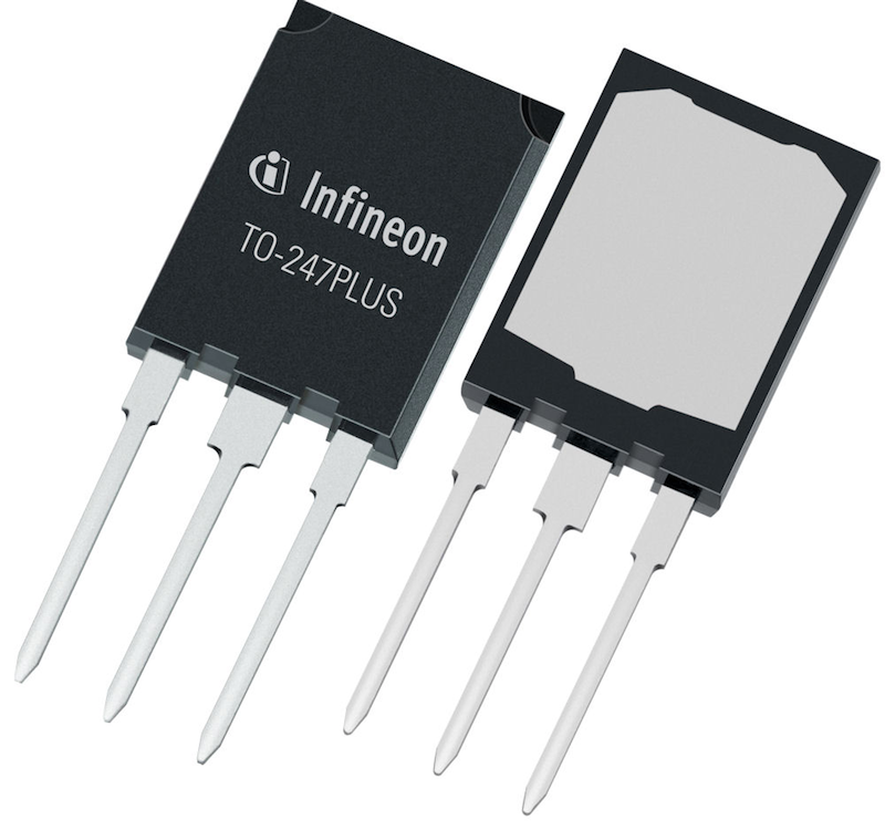 Infineon's TO-247PLUS package enables currents up to 120A