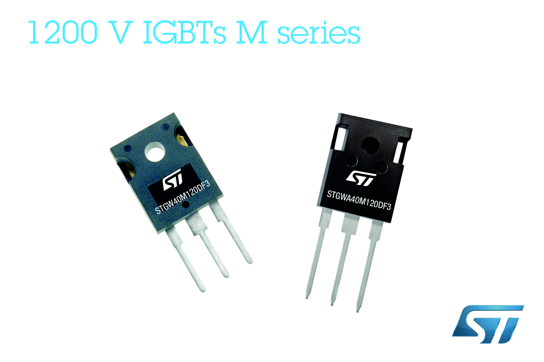 M-Series IGBTs from STMicro tout efficiency and ruggedness