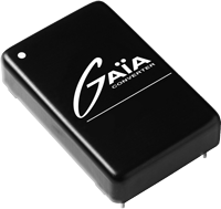 Gaia Converter expands its ultra-wide input-voltage DC/DC converter offering