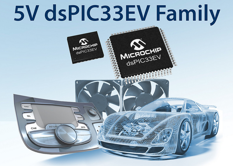 Microchip's new 5V dsPIC33 devices offer enhanced noise immunity and robustness at SPS IPC Drives 2014