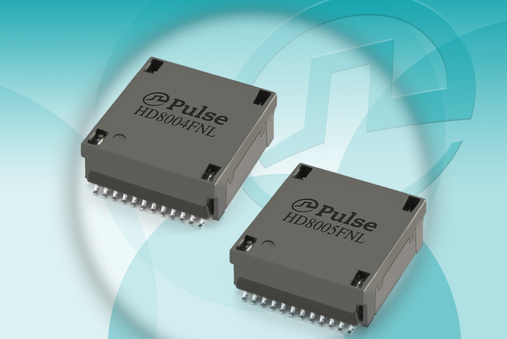 Pulse Electronics introduces its latest HDBaseT transformers
