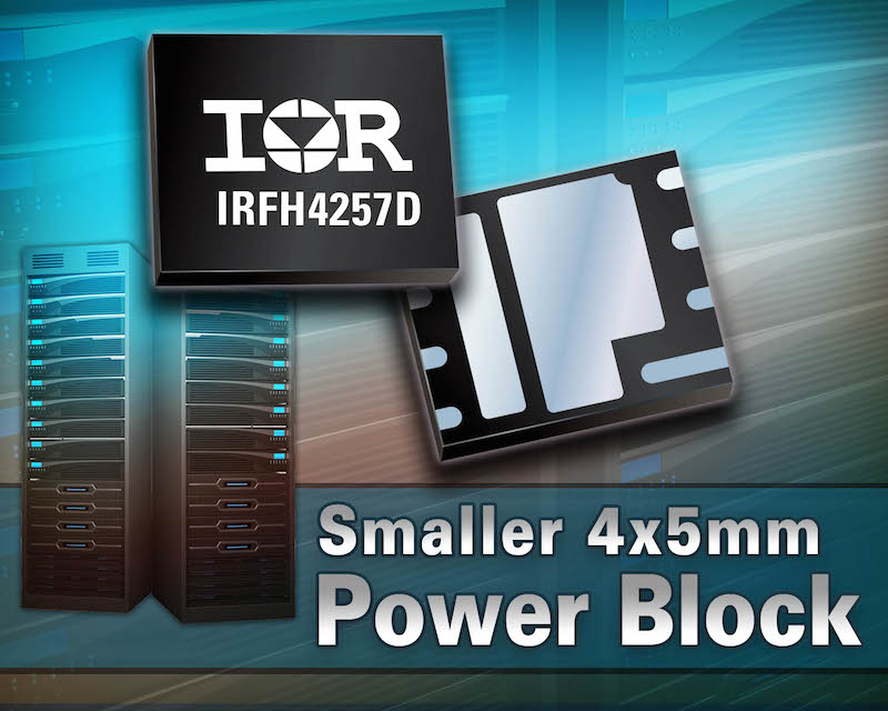 IR's latest high-density FastIRFET in 4x5 PQFN packaging offers a compact solution for DC-DC apps