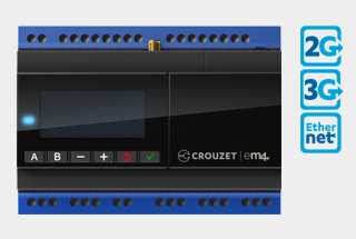 Newark element14 now carries Crouzet Automation em4 remote PLC