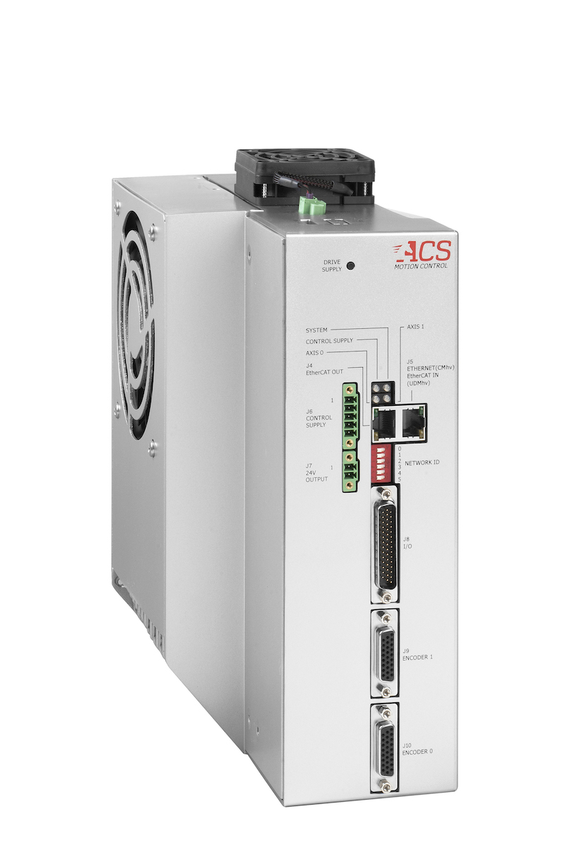 ACS' latest control module has integrated drives
