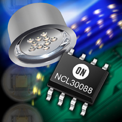 ON Semiconductor offers updated PFC AC/DC drivers for LED lighting