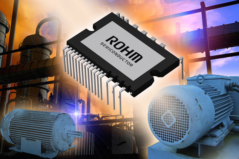 ROHM's latest Intelligent power modules offer high-performance switching
