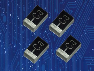 AVX claims smallest and thinnest fused undertab high CV tantalum SMD chip capacitors available