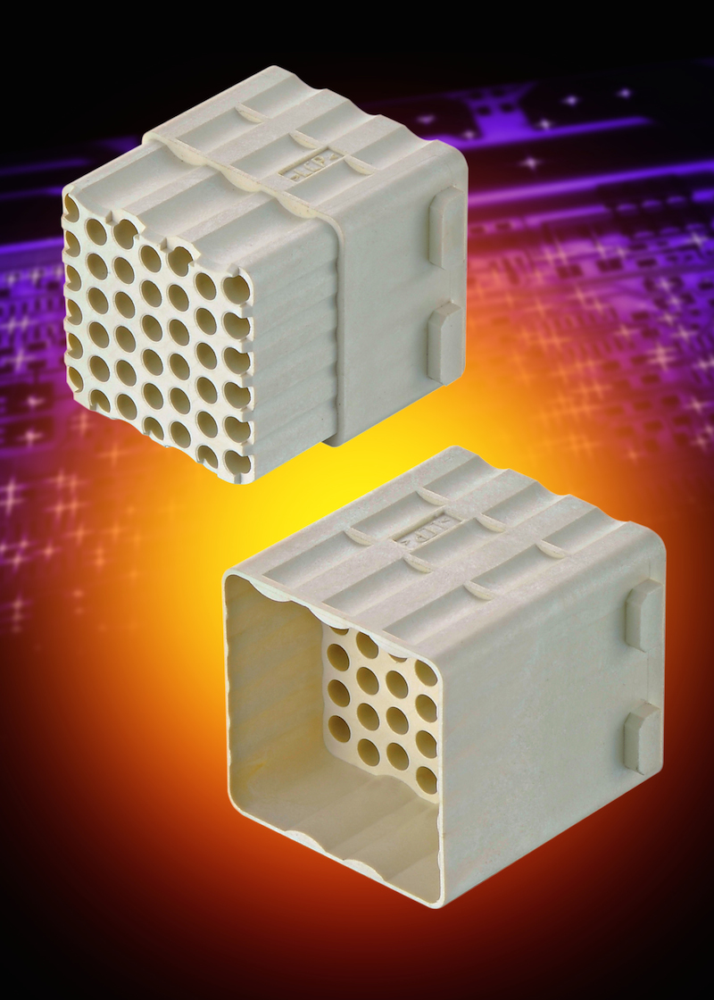 HARTING expands Han-Modular connector family with highest-density module