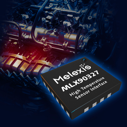 Melexis' low-cost thermocouple interface IC empowers greener cars