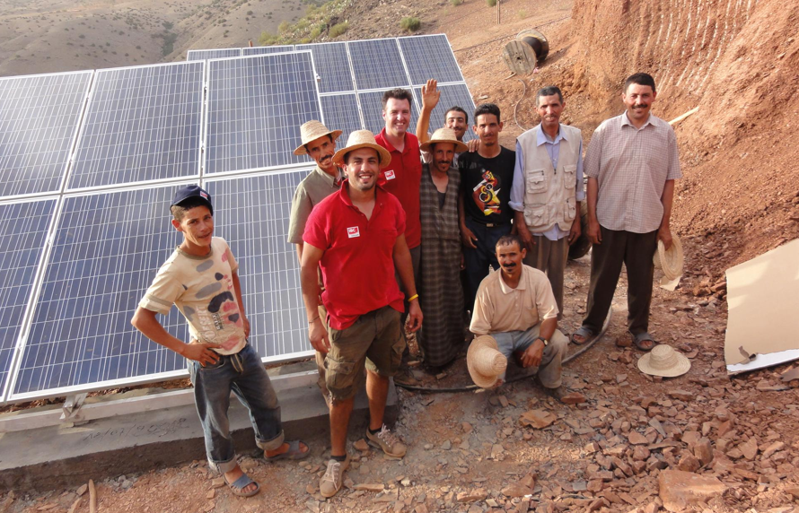 IBC SOLAR provides training for PV installers in Morocco