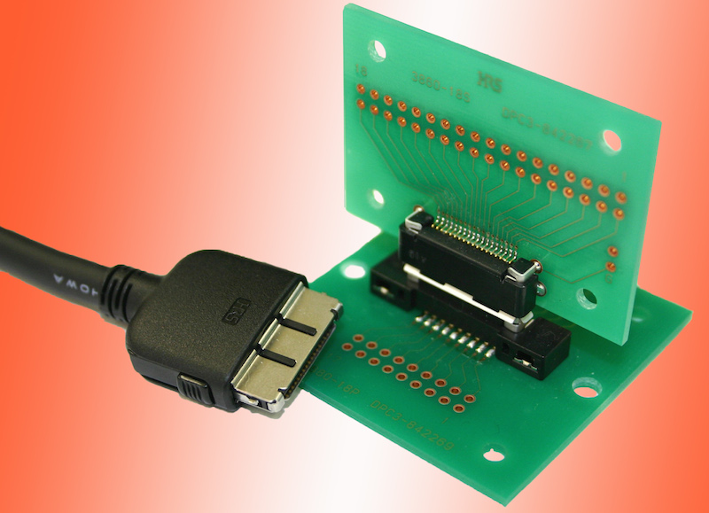 Hirose's latest long-life I/O docking connector has a novel contact structure