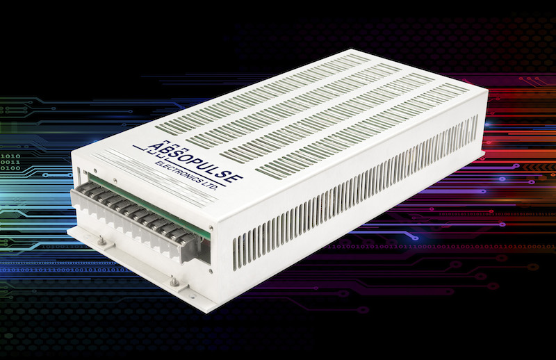Absopulse frequency converters deliver 300VA pure sine wave from universal PFC-input