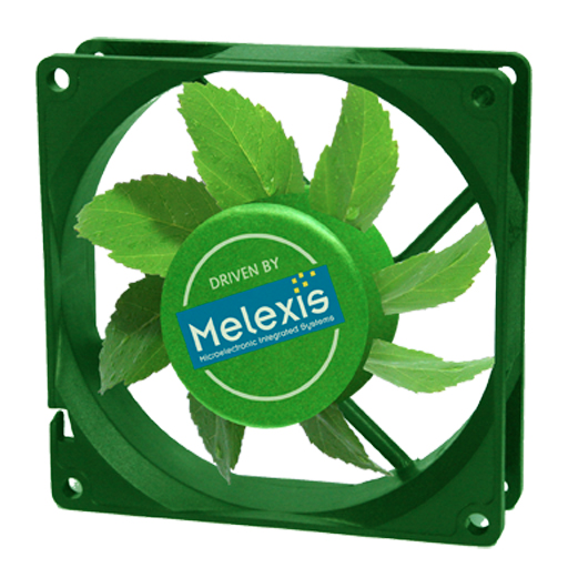 Melexis' low noise single-coil fan driver IC offers built-in current limiting functionality