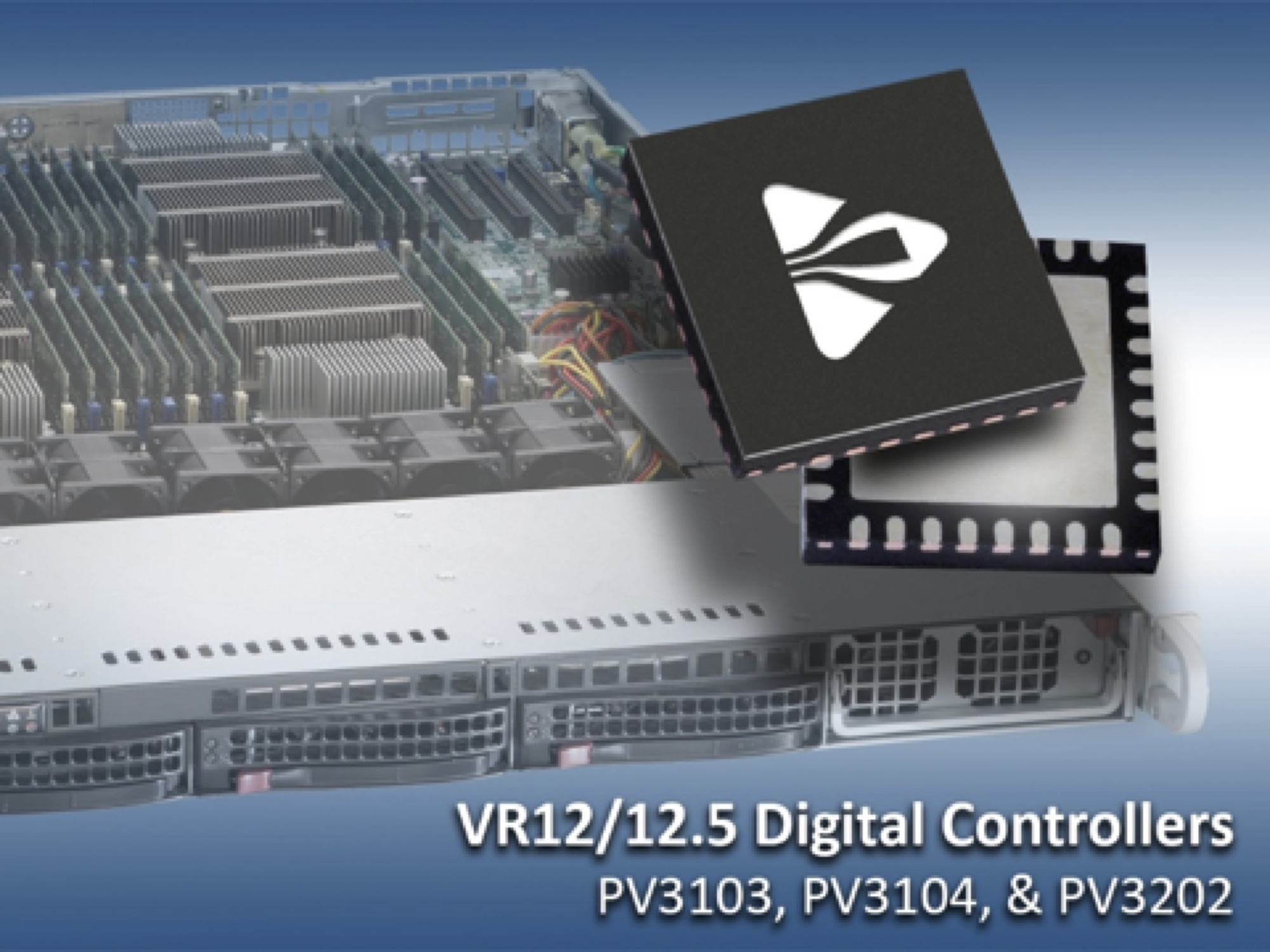 Powervation's digital controller family is VR12/12.5-compliant