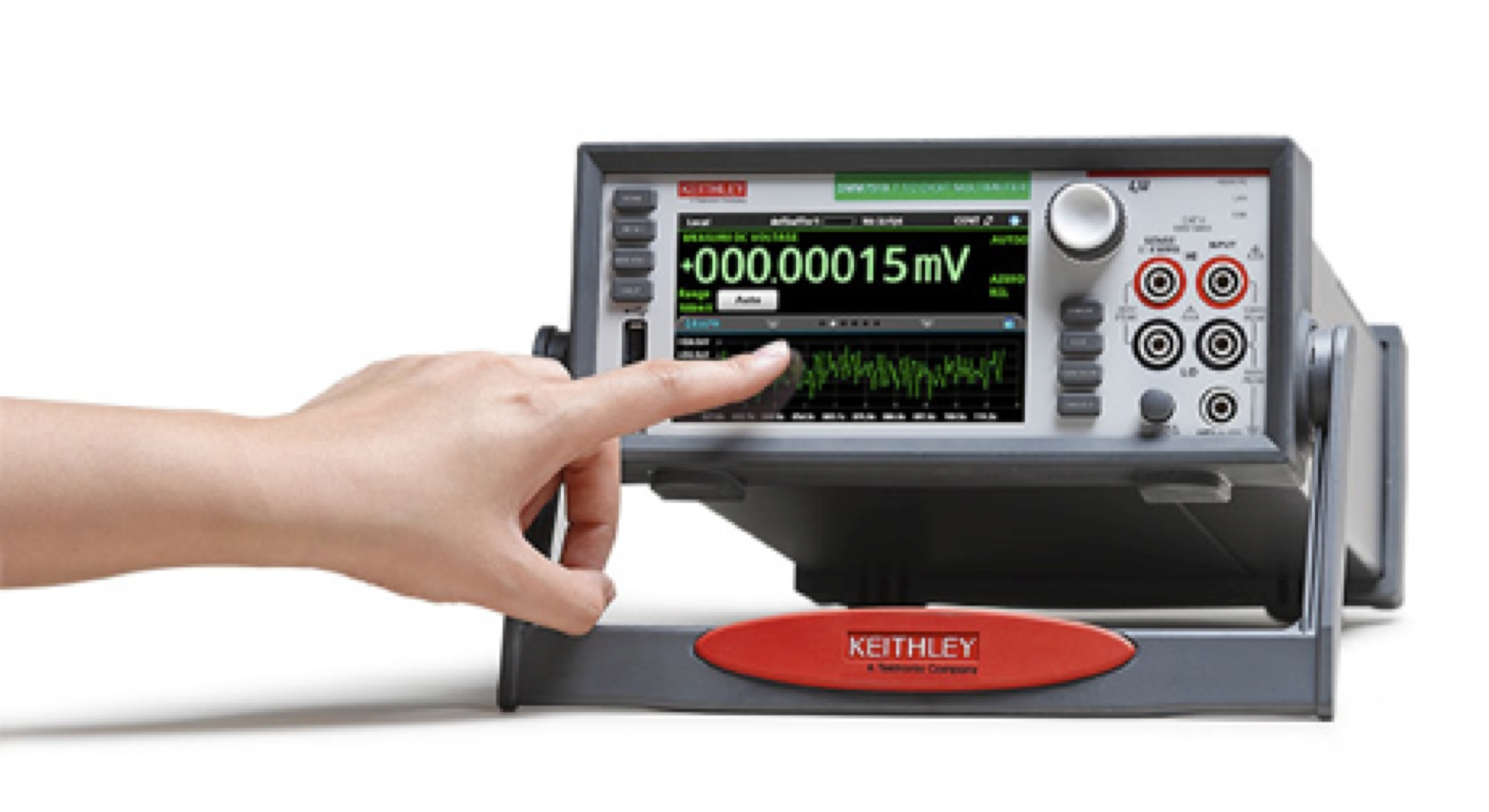 Keithley claims first graphical sampling DMM