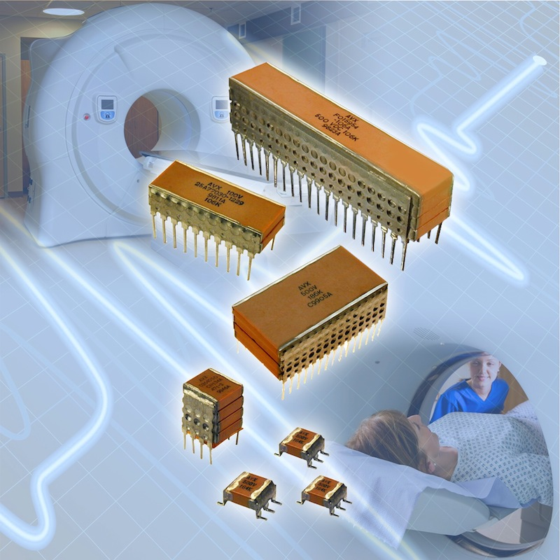 AVX's latest high-voltage stacked SMPS capacitors suit high voltage apps